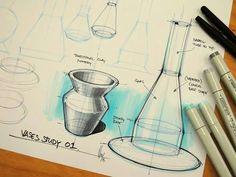 #vases #study #design #sketches