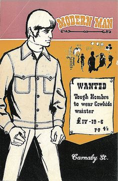 Modern Man Dandy Back Cover