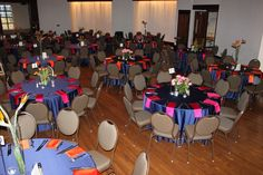 A reception example in Clowes Ballroom
