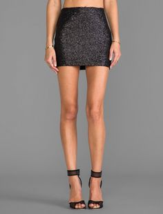 #Revolve Clothing         #Skirt                    #Couture #Miss #Sequin #Mini #Skirt #Black          MM Couture by Miss Me Sequin Mini Skirt in Black                              http://www.seapai.com/product.aspx?PID=528841