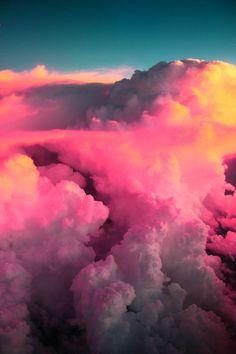 Creative Nature, Pinned, Sun, Cloud, and Photo image ideas & inspiration on Designspiration Beautiful Sky, Beautiful World, Beautiful Images, Beautiful Things, Pink Sky, Sky And Clouds, Pink Clouds, Natural Phenomena, Favim