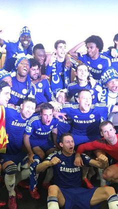 Chelsea FC - Champions of 2014/2015 Season!