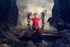 Kids' Superhero Photoshoot