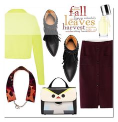 """fall leaves colours"" by mirisproleca ❤ liked on Polyvore featuring TIBI, Fall and FallColors"