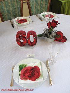 diamantene hochzeit feiern 60 jahre ehe on pinterest hochzeit rose centerpieces and deko. Black Bedroom Furniture Sets. Home Design Ideas