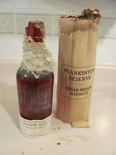 *RARE* 1902 CEDAR BROOK PROHIBITION-ERA WHISKEY..WRAPPED AND SEALED!! (09/30/2011)
