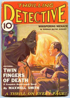 Thrilling Detective, September 1932.