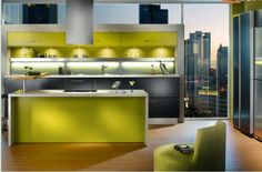 #kitchen Colour in Kitchens