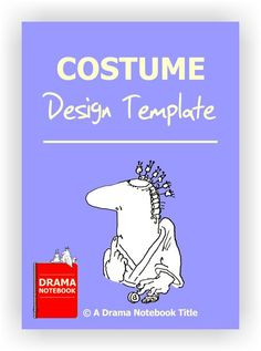 Printable template for students to use to design their own costume.