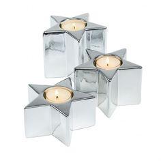 Krismasi Stern Teelichthalter von Sompex bei ikarus