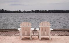 Patio Furniture - The Centerpiece Of Your Patio - Backyard Patio Furniture Backyard Furniture, Patio Furniture Sets, Backyard Patio, Outdoor Furniture, Lakeside Beach, Beautiful Places, Beautiful Pictures, Chair Pictures, Outdoor Chairs
