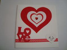 Tarjeta Corazón Love
