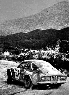1969 TdC: Jean-Luc Therier, Alpine-Renault A110 1440, 5th