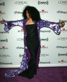 Diana Ross at the Clive Davis pre-Grammy Awards party in Beverly Hills, California, February 2006 Celebrity Babies, Celebrity News, Diana Ross Supremes, Graydon Carter, Mtv Videos, Mtv Video Music Award, Vanity Fair Oscar Party, Costume Institute, American Music Awards
