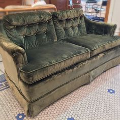 #Vintage #Bohemian #Tufted #Velveteen #LoveSeat #Sofa -Click On Link For All Info Loveseat Sofa, Couch, Mid Century Modern Furniture, Vintage Bohemian, Mid-century Modern, Love Seat, Link, Inspiration, Home Decor