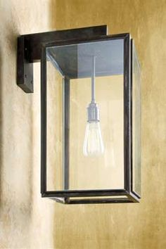Ilford Wall small antique bronze. Nautic by Tekna.
