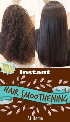 Hair Smoothening at home, will cost you and you can see magic in just 20 minutes - Hair Care Natural Hair Care Tips, Natural Hair Styles, Hair Smoothening, Diy Hair Treatment, Hair Treatments, Diy Hair Care, Extreme Hair, Smooth Hair, Thin Hair