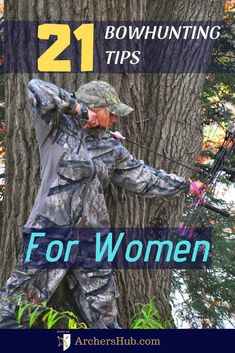 Archery women love bowhunting too! Check out these 21 bowhunting tips for women and have spectacular hunting season! bow hunting women tips