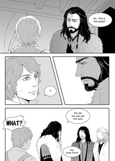 The Hobbit: An Unexpected Romance by ~trackhua on deviantART