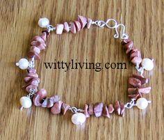 gemstone beaded bracelet projects - many patterns