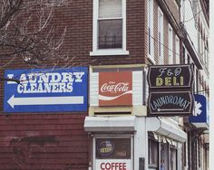 Some nice old school signage in Bushwick, Brooklyn (NY) Taken by me on Feb. 25th, 2017