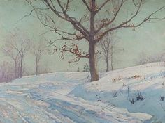 Underpaintings: Walter Launt Palmer (1854 - 1932)