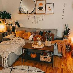 Boho Living Room, Living Room Decor, Bedroom Decor, Bohemian Living, Small Living Rooms, Living Room Inspiration, Home Decor Inspiration, First Apartment Decorating, Apartment Ideas