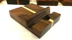 Walnut and Maple  iPod iPad iPhone Tablet by FentonCreekWoodWorks, $10.00