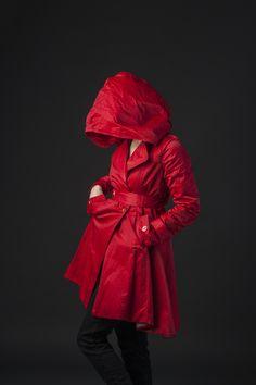 RAQUEL JACKET — Lillian Luvroc Full Look, Rain Jacket, Raincoat, Lady, How To Wear, Jackets, Clothes, Shoes, Women