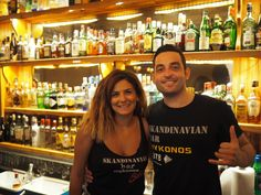 Once you get in at Skandinavian Bar this is what you get :) Nothing But Smiles !