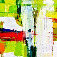 """Saatchi Online Artist: Lisa Marie Yvonne Duval; Oil, 2012, Painting """"Road Trip"""""""