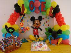 Decoración temática Mickey Mouse | Fiestisima