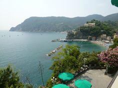 """Panorama, Camera di """"Hotel Porto Roca"""", Monterosso al Mare Italia (Luglio)"""