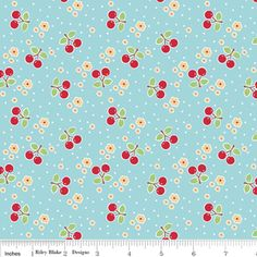Bee in My Bonnet - Bake Sale - Bake Cherry in Blue  ~ an addition to my craft room perhaps?