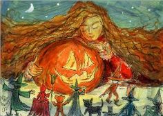 John Randall York Halloween art and Christmas art page featuring the fantasy art of renowned artist John Randall York; fantasy art makes a great gift or presentation item