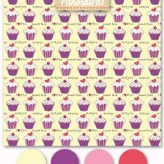 Cupcake – Fundo Amarelo