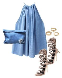 """Untitled #5379"" by stylistbyair ❤ liked on Polyvore featuring Monika Chiang and J.Crew"