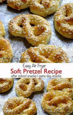 Easy Air Fryer Soft Pretzel Recipe Cooking With Kids