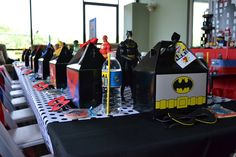 Partylicious: {Superhero Party}