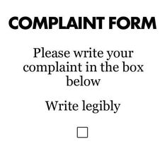 Complaints Here.....Especially if it's about my cooking....crl