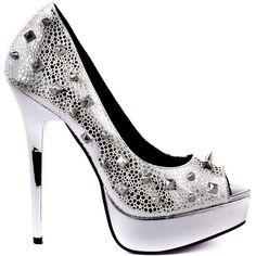 Promise Shoes   Manchi - Silver