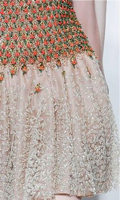 Valentino - embroidery detail