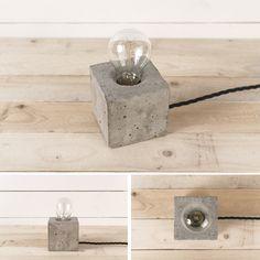 CONCRETE LAMPS - diy