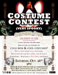 Spooky is as spooky does. Enter our Halloween contest!
