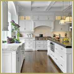 French Country Kitchen Modern Design Ideas – Decorating Ideas - Home Decor Ideas and Tips. Our French Country furniture and home decor draws its motivation from the gracious . French Country Rug, French Country Furniture, French Country Kitchens, French Country Decorating, Country Style, French Cottage, Country Homes, French Style, Country Kitchen Designs
