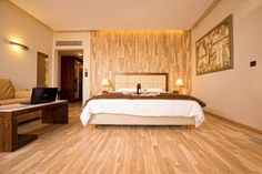 Pharae Palace Hotel offers a room that can comfortably accommodate families with up to 3 children.  #accommodation #Kalamata