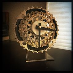 what time is it?  time to get the favorite cyclist you know a Dream Great Dreams Bike Gear Desk Clock. with one of these babies on their desk they will never be late for a ride again!