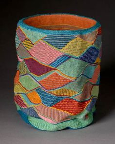 Lois Russell #basketry - see a feature on Russell's work in the Fall'14 issue of Fiber Art Now magazine