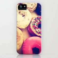 Yummy iPhone! Sweet donuts! iPhone & iPod Case by Love2Snap - $35.00