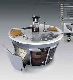 kitchen space saver ideas pictures - Google Search
